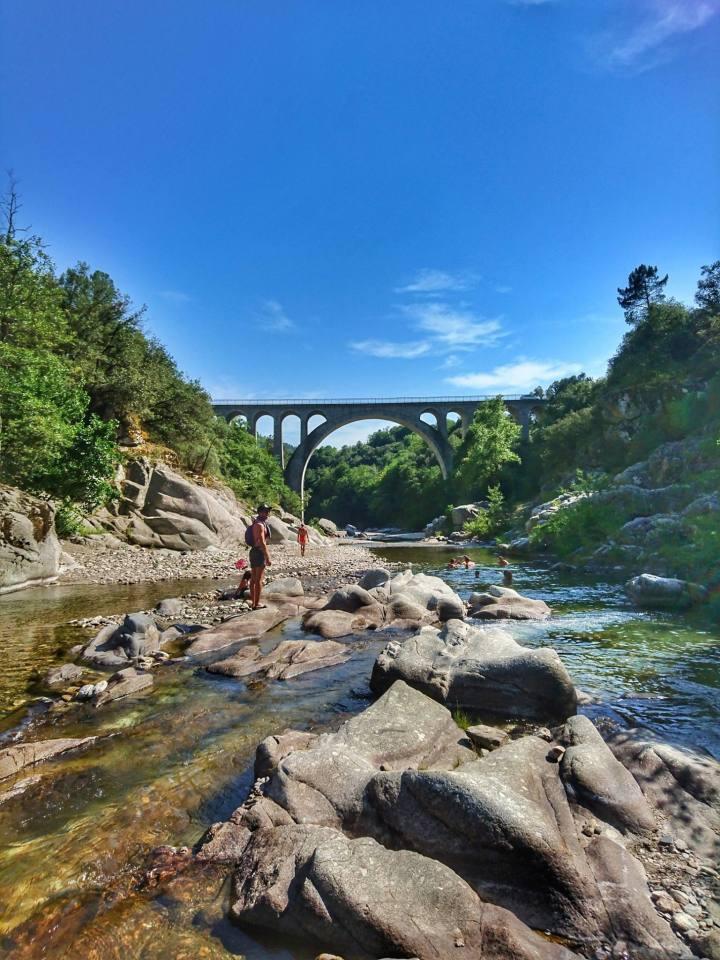 Spot baignade : Pont desAbarines