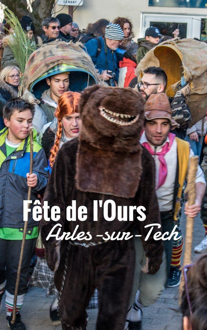 La fête de l'ours àArles-sur-Tech
