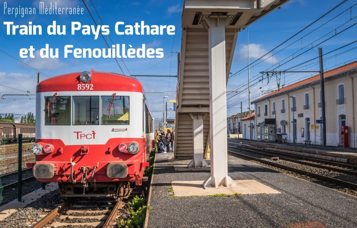 Voyage à bord du Train du Pays Cathare et duFenouillèdes