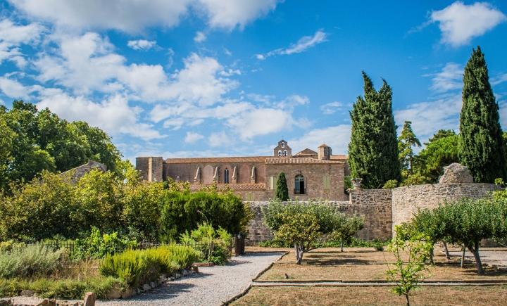 Visite de l'abbaye deValmagne
